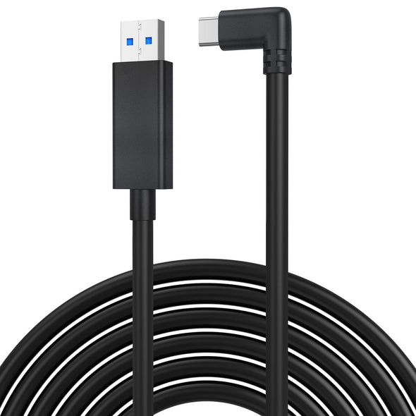 QC-5 - [New] KIWIdesign USB C Cable 16FT(5M),High Speed Data Transfer for Oculus Quest 1 & 2 Link Cable(White)