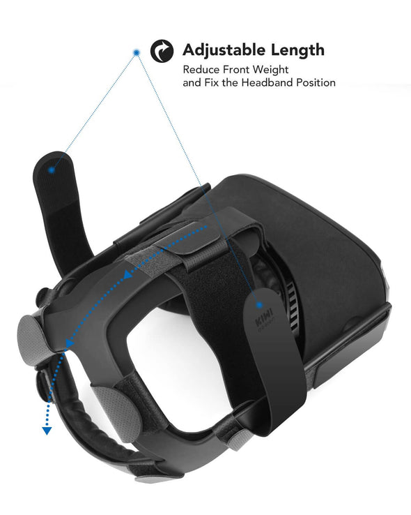 Q10 - KIWI design Head Strap for Oculus Quest VR Headset Cushion Headband