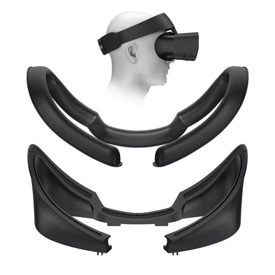 Q15 - KIWI design Oculus Rift S Facial Interface Bracket & PU Leather Foam Face Cover Pad Replacement