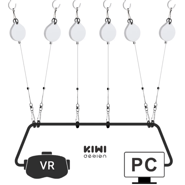 V1 - VR Headset Cable Managment (White)