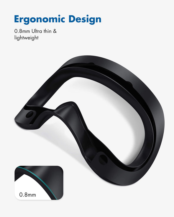 Q17 - KIWI design Ultra Thin 0.8 mm VR Silicone Face Cover Pad for Valve Index VR Headset