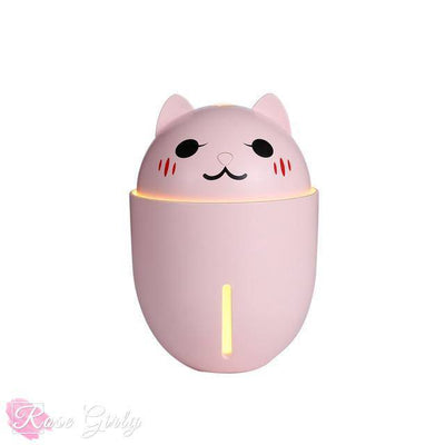 Humidificateur d'air ultrasonique USB petit chat