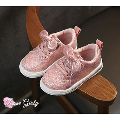Chaussure fille rose