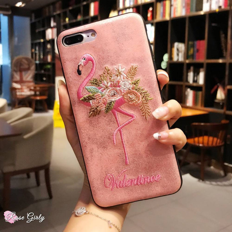 Une coque iphone rose  rosegirly