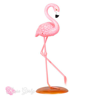 DÉCORATION ROSE <br> Flamant rose
