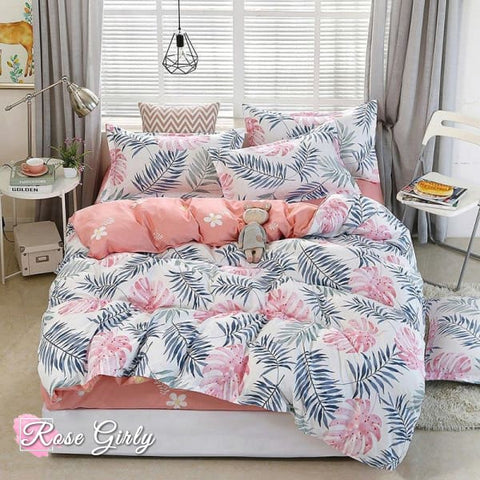 Housse de couette tropical - RoseGirly