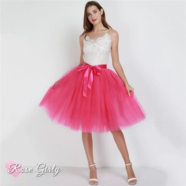 Jupe tulle pour femme