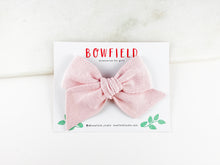 Load image into Gallery viewer, Blush Pink Linen // Large Pinwheel