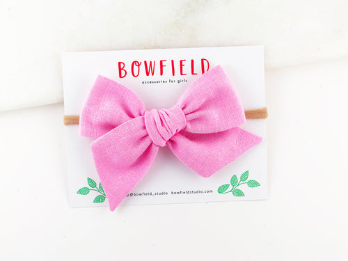 Cotton Candy Linen // Large Pinwheel