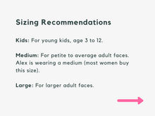 Load image into Gallery viewer, City Light Kids Face Mask PRE-ORDER// Ships Aug 12