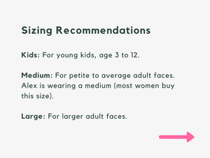 City Light Kids Face Mask PRE-ORDER// Ships Aug 12