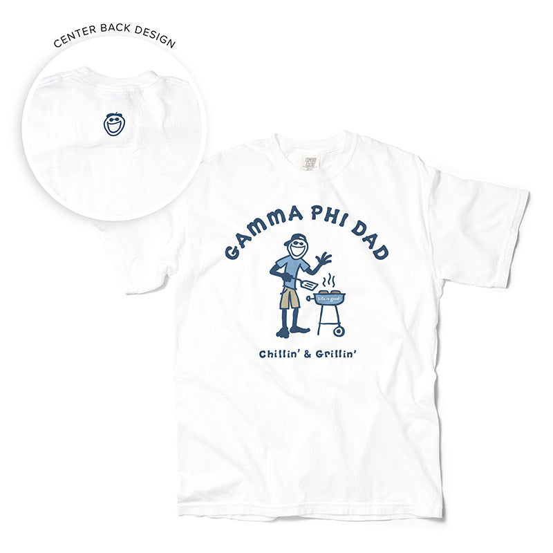 LIFE IS GOOD® Grill Dad Tee (G-Z)