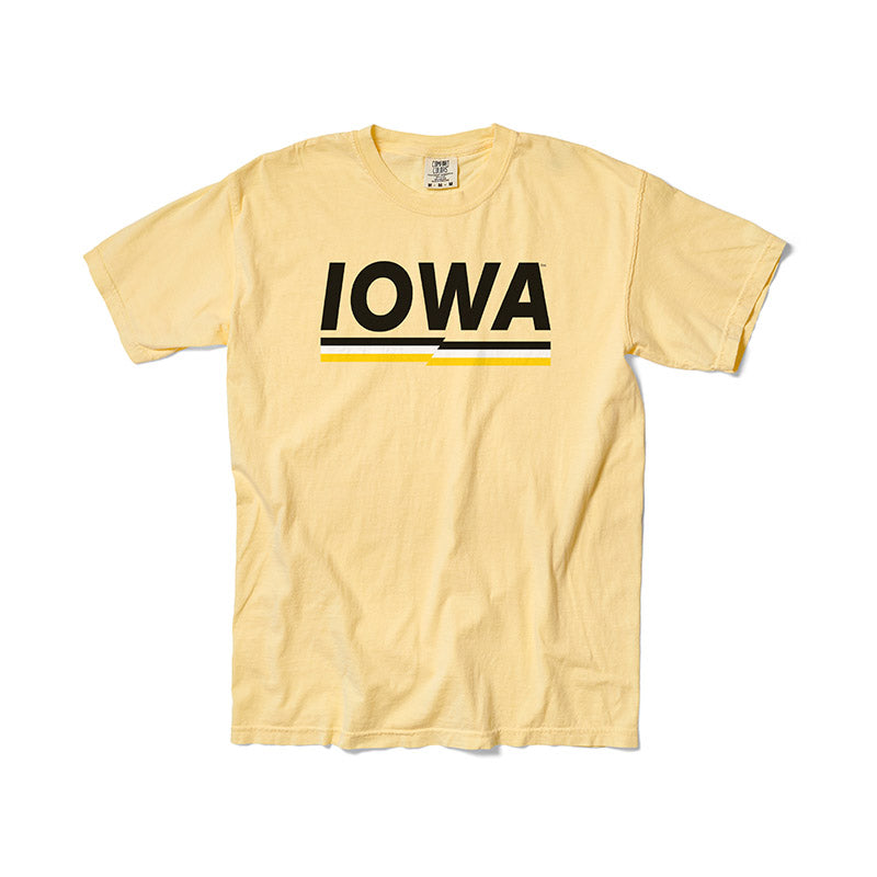 U of Iowa Stripes Tee