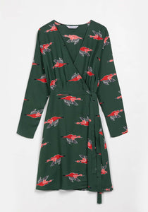 Duck Hunt Wrap Dress