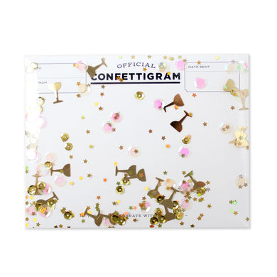 Pop Some Bubbly Confettigram