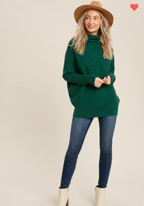 Cameron Sweater - Hunter Green
