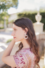 Load image into Gallery viewer, Pearl Knocker Earrings