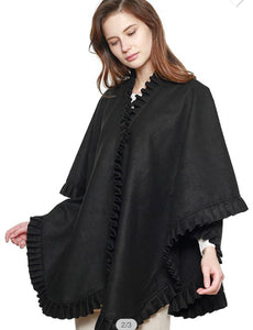 Pleated Poncho/Cape