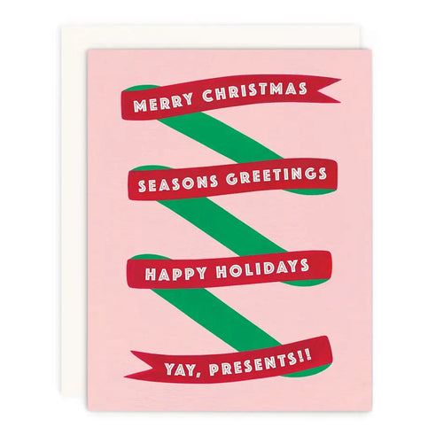 Christmas Yay Greeting Card