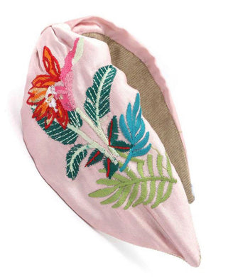 Palm Beach Embroidered Headband