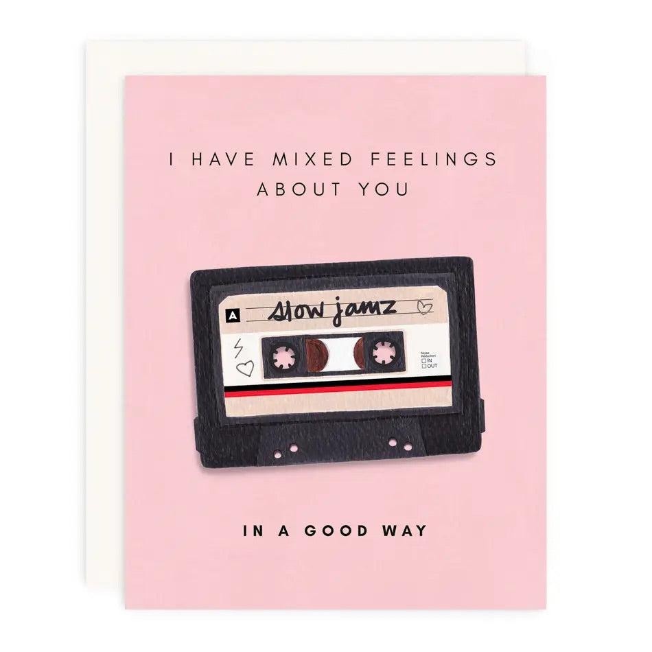 Mixed Feelings Greeting Card
