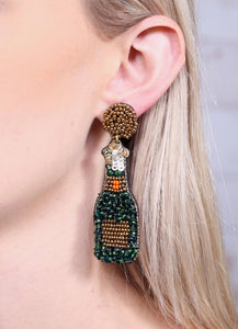 Pop the Champagne Earrings