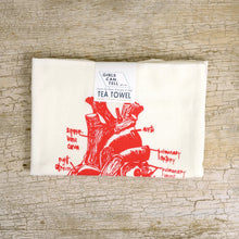 Load image into Gallery viewer, Anatomical Heart Tea Towel