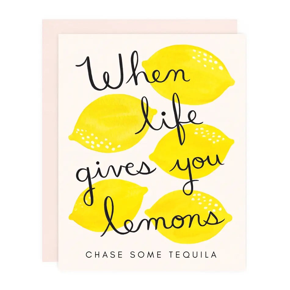 Life Gives You Lemon Greeting Card