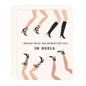 Walk the World Greeting Card