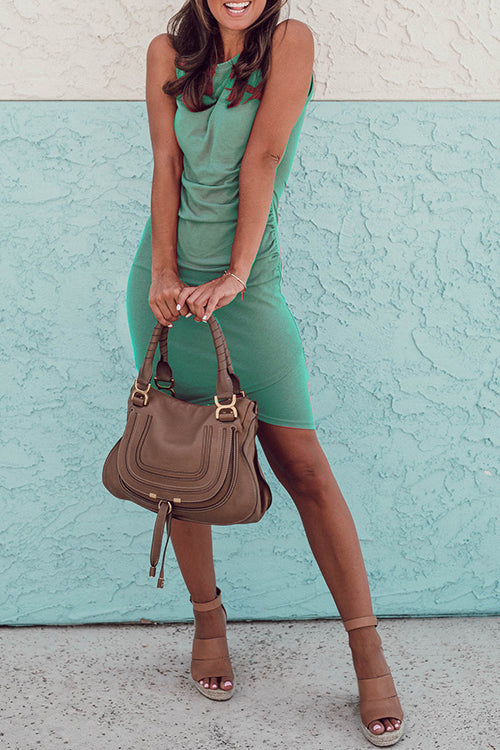 Shefn Perfect Sleeveless Bodycon Dress(6 Colors)