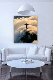 Jesus in Clouds