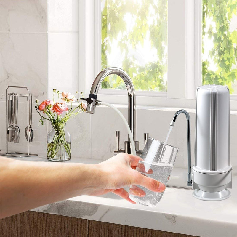 NU Aqua 1 Stage Countertop Water Filtration System