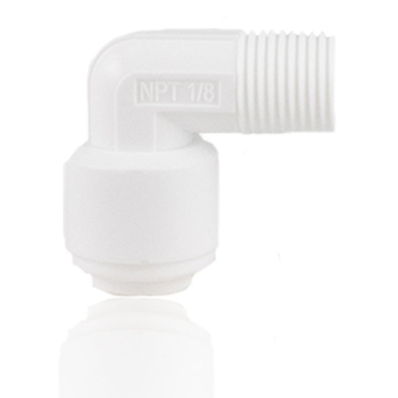 NU Aqua Male Elbow OD1/4'' x NPTF 1/8''