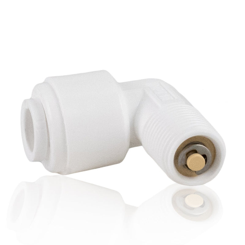 SST Check Valve Quick Connector Elbow
