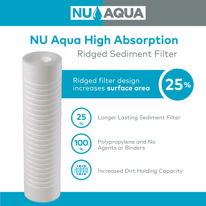 Reverse Osmosis Systems - NU Aqua Platinum Series 6 Stage UV Ultraviolet 100GPD RO System With Booster Pump