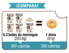 Merengue Don't Worry con solo 1 Cal Coco 46g