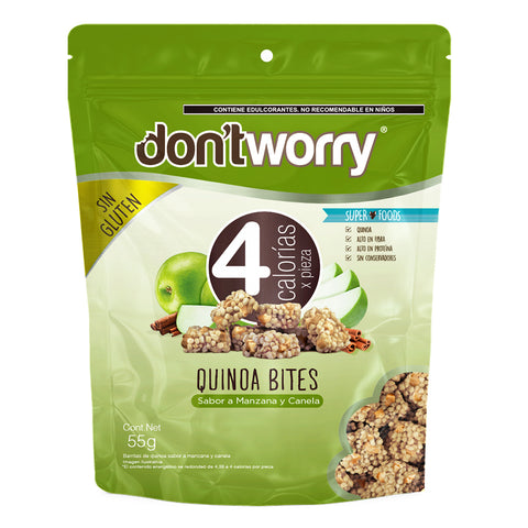 Merengue Don't Worry con solo 4 Cal Avellana Relleno 68g