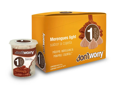 Merengue Don't Worry sin Azúcar Chocolate Relleno 50g