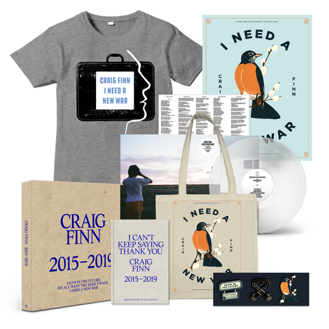 Signed I Need A New War Deluxe Bundle