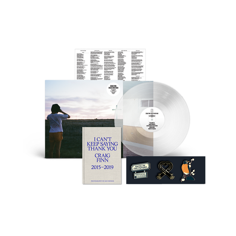 LP + Lyric Book + Pin Bundle