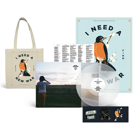 LP + Poster + Tote + Pin Bundle