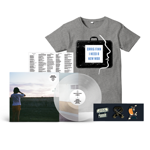 LP + T-Shirt + Pin Bundle
