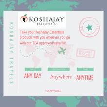 Load image into Gallery viewer, ✈Koshajay Travels Bundle ( 6 products, 2 oz each) $ 20.00