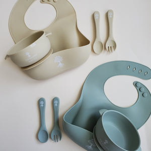 Spoon and Fork Set - Spoon and Fork - The Rooted Baby Co.