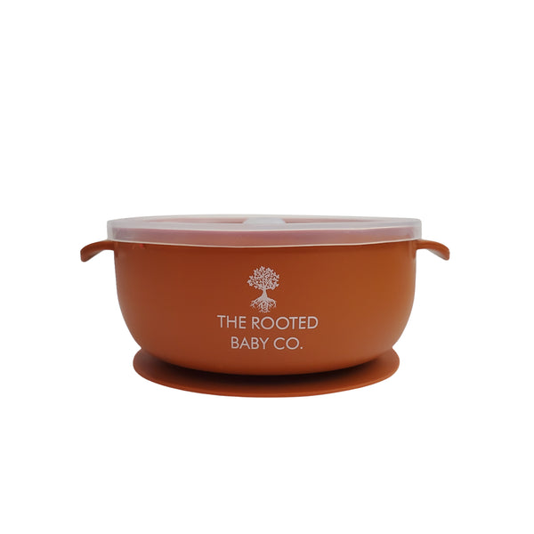 Silicone Bowl // Tamale - The Rooted Baby Co.