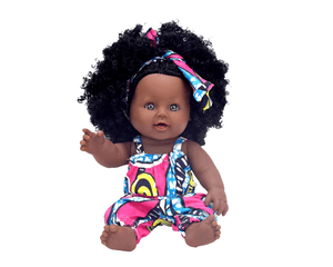 Abena (Tuesday) Ashanti Doll - The Rooted Baby Co.