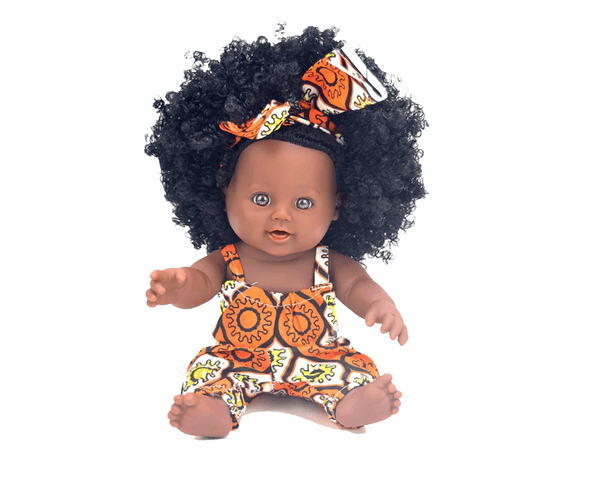 Adjoa (Monday) Ashanti Doll - Ashanti Doll - The Rooted Baby Co.