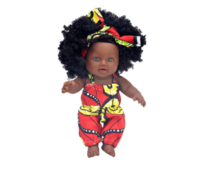 Akosua (Sunday) Ashanti Doll - The Rooted Baby Co.