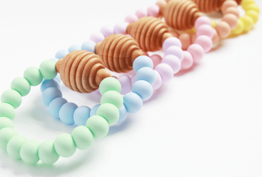 Teether // Honeycomb - Teether - The Rooted Baby Co.