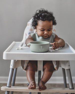 Silicone Bowl // Akosombo - The Rooted Baby Co.